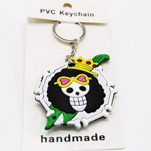One Piece anime two-sided key chain