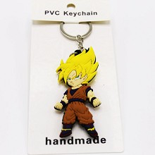 Dragon Ball anime two-sided key chain