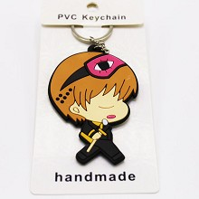Gintama anime two-sided key chain