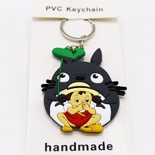 TOTORO anime two-sided key chain