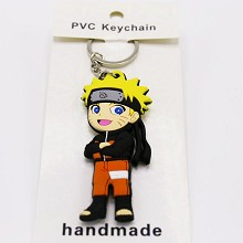 Naruto anime two-sided key chain