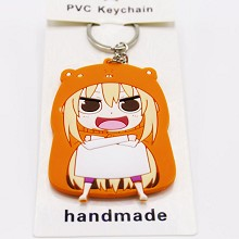 Himouto! Umaru-chan two-sided key chain