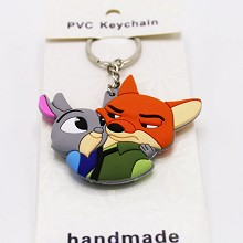 Zootopia two-sided key chain