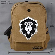 Warcraft backpack bag