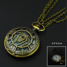Spider-Man necklace pocket watch