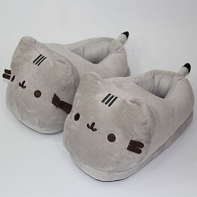 Pusheen the Cat anime plush shoes slippers a pair(...