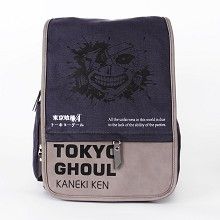 Tokyo ghoul anime canvas backpack bag