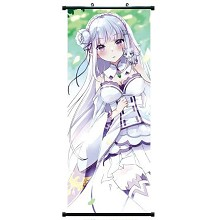 Re:Life in a different world from zero Rem wallscroll 40*102CM