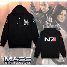 Mass Effect long sleeve thick hoodie