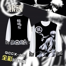 Gintama anime long sleeve t-shirt