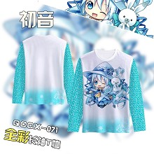 Hatsune Miku anime long sleeve t-shirt