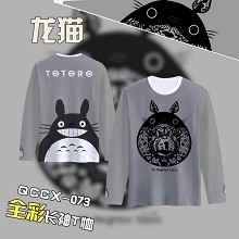 TOTORO anime long sleeve t-shirt