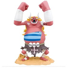 One Piece Ozzy anime figure 300MM