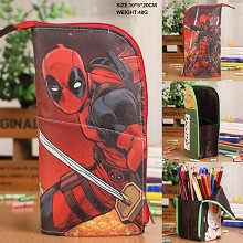 Deadpool pen bag container