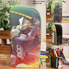 Overwatch anime pen bag container