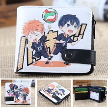 Haikyuu anime wallet