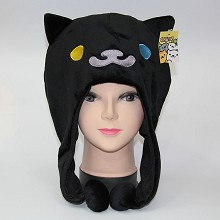 Neko Atsume plush hat(black)
