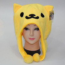 Neko Atsume plush hat(yellow)