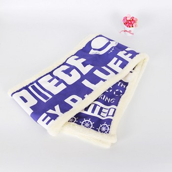 One Piece anime keep warm scarf