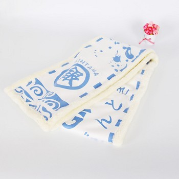 Gintama anime keep warm scarf