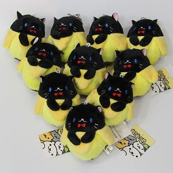3.2inches the anime plush dolls set(10pcs a set)