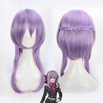 Seraph of the end Hiiragi Shinoa cosplay wig