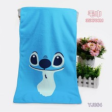 Stitch bath towel