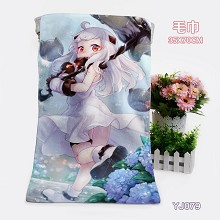 Collection anime bath towel