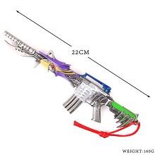 Cross Fire cos weapon M4A1 key chain