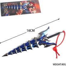 Glory of the king cos weapon key chain