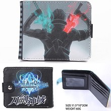 Sword Art Online anime wallet