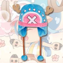 One Piece Chopper anime plush hat