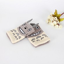 TOTORO anime plush gloves a pair