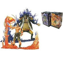 One Piece DXF anime figures set(2pcs a set)