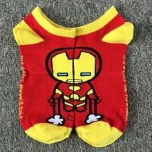 Iron man cotton socks a pair