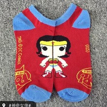 Wonder Woman cotton socks a pair
