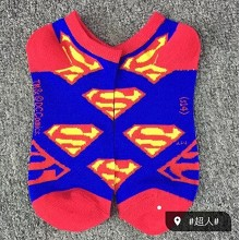Super man cotton socks a pair