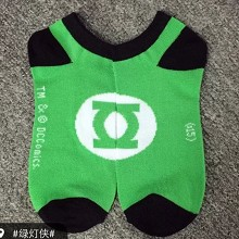 Green Lantern cotton socks a pair