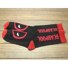 Deadpool cotton long socks a pair