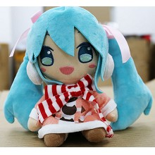 10inches Hatsune Miku anime plush doll