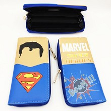 Marvel The Avengers Super man long wallet