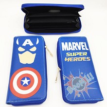 Marvel The Avengers Captain America long wallet