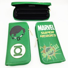 Marvel The Avengers Green Lantern long wallet