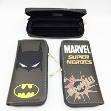 Marvel The Avengers Batman long wallet