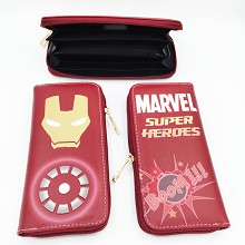 Marvel The Avengers Iron Man long wallet