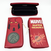 Marvel The Avengers Hellboy long wallet