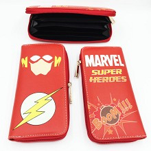 Marvel The Avengers Flash long wallet