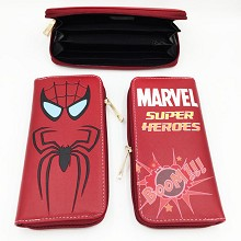Marvel The Avengers Spider man long wallet