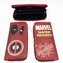 Marvel The Avengers Deadpool long wallet
