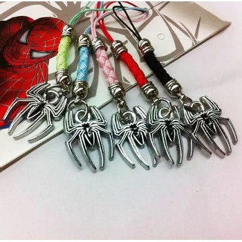 Spider Man phone straps set(5pcs a set)